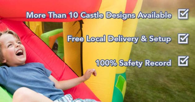 central coast jumping castle hire
