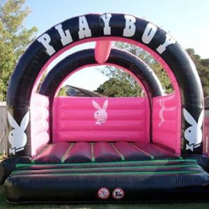 playboy jumping castle hire