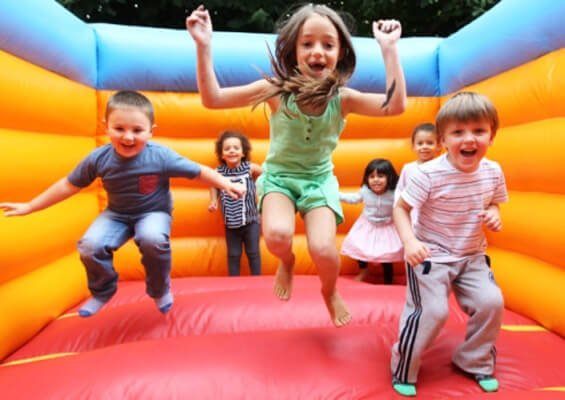 jumping castle hire benefits