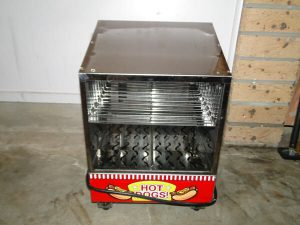 newcastle hot dog machine hire