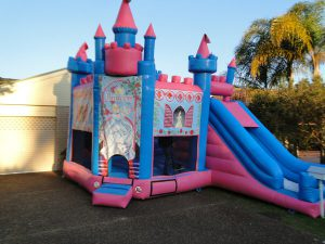 disney princess jumping castle hire newcastle