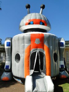 robot jumping castle hire newcastle