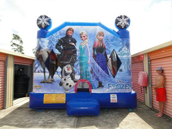 bouncy castle front