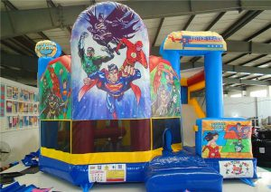 justice league jumping castle for hire