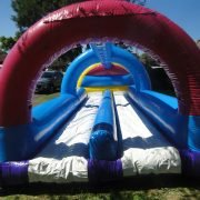 inflatable water slide for hire on the central coast