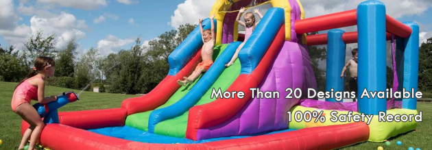 newcastle jumping castle hire party